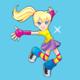 Polly Pocket Jumping