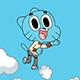 Jumping Gumball