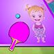 Baby Hazel Table Tennis Game