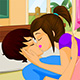 Bedroom Couple Kissing Game