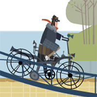 Biker Street - Free  game