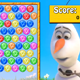 Olaf Bubble Shoot Game