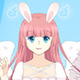 Cute Bunny Angel - Free  game