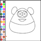 Color Pou Panda