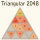 Triangular 2048 Game