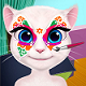 Talking Angela Face painting