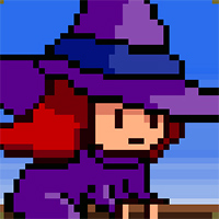 Flappy Witch Game