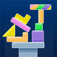 Geometry Tower Game