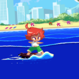 Infinite Surfer Game
