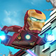Lego Iron Man - Free  game
