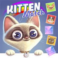 Kitten Match - Free  game
