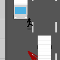 Stickman Jaywalking
