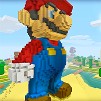 Minecraft Super Mario Game