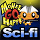 Monkey Go Happy Sci-fi Game
