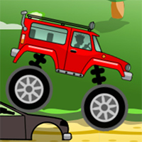 Monster Truck Racing - Free  game