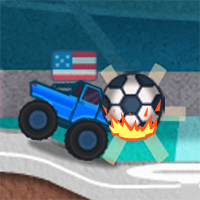 Monster Truck Soccer Game