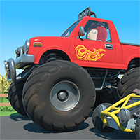 Oddbods Monster Truck - Free  game