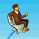 Pixel Toilet Game