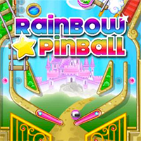 Rainbow Star Pinball Game