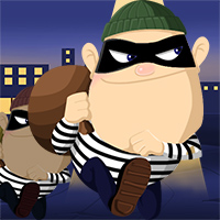 Robbers in Town - Free  game