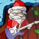 Santa Rockstar - Free  game