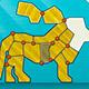 Shape Fold Animals Game