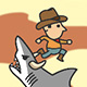 Shark Rodeo - Free  game