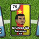 Sports Heads Cards: Soccer Squad Swap - Free  game