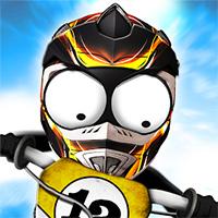 Stickman Biker - Free  game