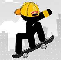 Stickman Skate - Free  game