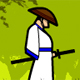 Straw Hat Samurai - Free slice game