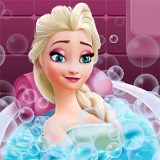 Elsa Beauty Bath - Free  game