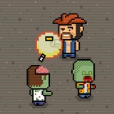 Pixel Zombie Shooter - Free  game
