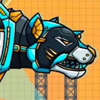 Robot Police  Iron Panther Game