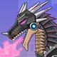 Toy War Robot Black Dragon - Free  game