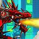 Robot Fire Dragon Game