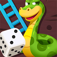 Snakes and Ladders Deluxe Game